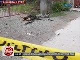 24 Oras: Mga tauhan ni Mayor Espinosa, nakipagbarilan sa mga pulis, 6 patay