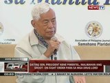 Dating Sen. President Nene Pimentel, inalmahan ang shoot-on-sight order para sa mga drug lord
