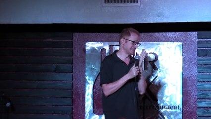 comedian makes parenting joke mother gets offended and heckles comedian destroys her