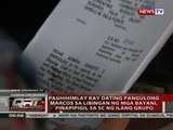 Paghihimlay kay dating Pang. Marcos sa Libingan ng mga Bayani, pinapipigil sa SC ng ilang grupo