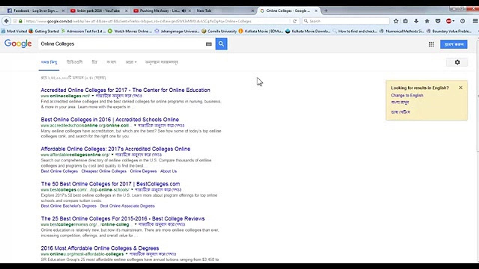 1 Online Colleges