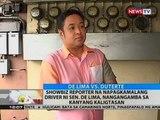 BT: Showbiz reporter na napagkamalang driver ni Sen. De Lima, nangangamba sa kanyang kaligtasan