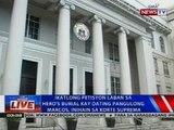 Ikatlong petisyon laban sa hero's burial kay dating Pangulong Marcos, inihain sa SC
