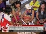 Grupong kontra sa paghihimlay kay Marcos sa Libingan Ng Mga Bayani, nakagirian ng mga pulis