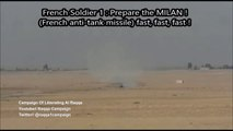 French Special Forces destroy an ISIS VBIED near Raqqa Forze speciali francesi VS isis