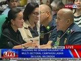 NTVL: Pagdinig ng Senado kaugnay sa multi-sectoral campaign laban sa iligal na droga