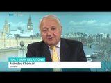 Interview with Mehrdad Khonsari from London on Italy-Iran relations