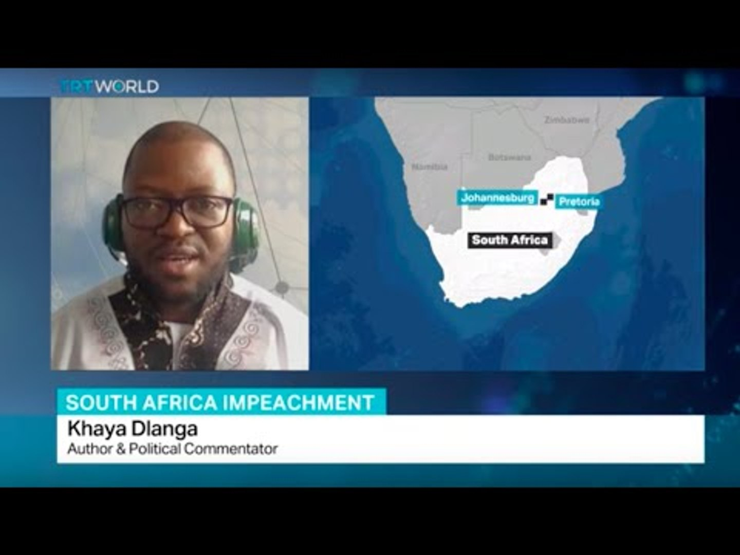 Interview with political commentator Khaya Dlanga on South Africa impeachment