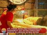 UB: AFP, itinigil muna ang paghahanda sa paghihimlay kay Marcos sa Libingan ng mga Bayani