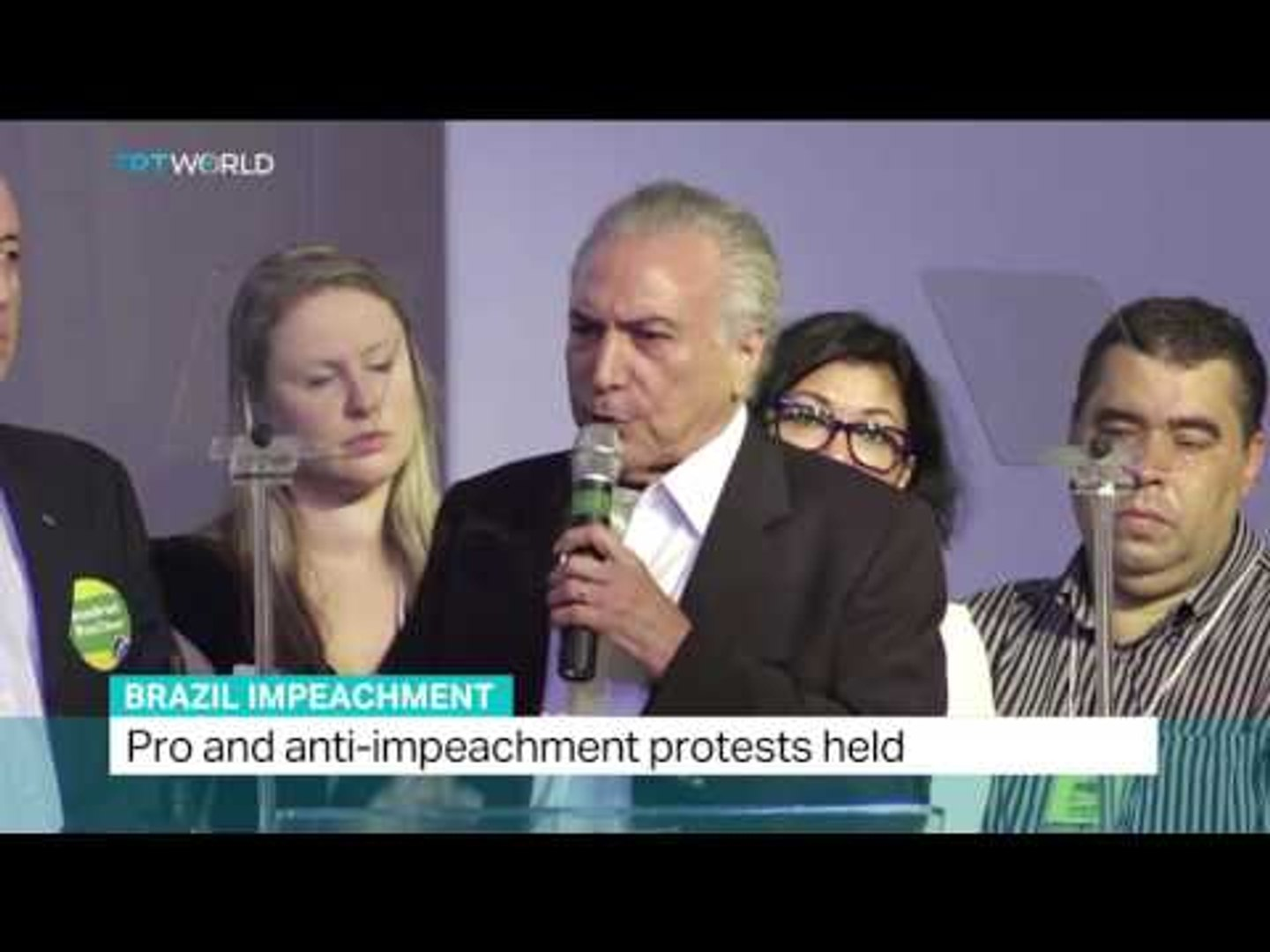 TRT World's Anelise Borges reports latest updates on Rousseff impeachment