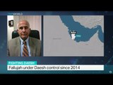 Interview with Martin Reardon from The Soufan Group on Daesh control over Fallujah