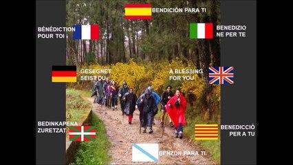 Bendición para el Camino de Santiago