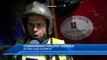 Hautes-Alpes : feu de maison en cours à Manteyer. 20 sapeurs-pompiers sur place