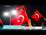 Turkey Nobel Peace Prize: University nominates Turkey for peace prize