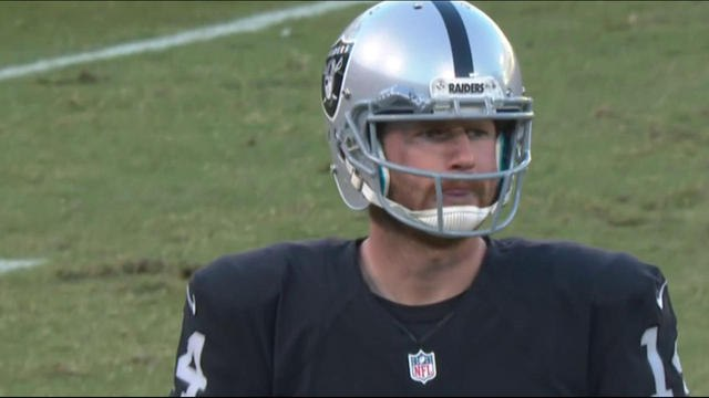 Warner: Not sure the Raiders can win without Carr