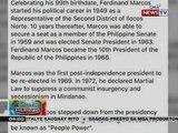 PCO, nagsasagawa raw ng imbestigasyon kaugnay ng araw ng kapanganakan ni dating Pres. Marcos