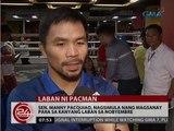 24 Oras: Sen. Manny Pacquiao, nagsimula nang magsanay para sa kanyang laban sa Nobyembre