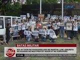 Ika-44 taon ng pagkadeklara ng Martial Law, ginunita ng kaanak ng mga pinatay noon at ng survivors
