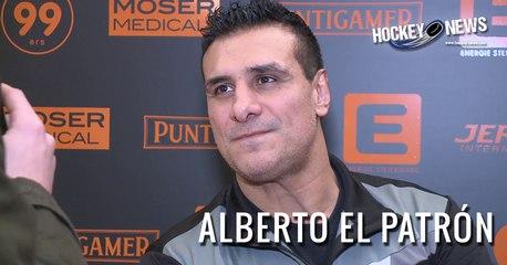 EBEL: Ehemaliger WWE Wrestler Alberto El Patrón (Del Rio) zu Gast bei den Moser Medical Graz 99ers