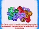 Solar String Lights KINGCOO Environmental 30 LED 20ft Solar Powered Starry Fairy Outdoor String