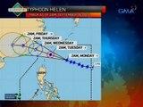 UB: Bagyong Helen, inaasahang magla-landfall sa Taiwan bukas ng hapon