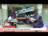 Gambia Elections: President Jammeh loses election
