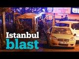 Twin blasts outside Istanbul football stadium