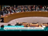 Israel-Palestine Tensions: Israel summons US ambassador over UN resolution