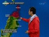 Tropical Depression Julian, inaasahang magla-landfall sa Batanes-Babuyan area bukas ng umaga