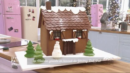 La maison géante en biscuit de Jérémy Del Val