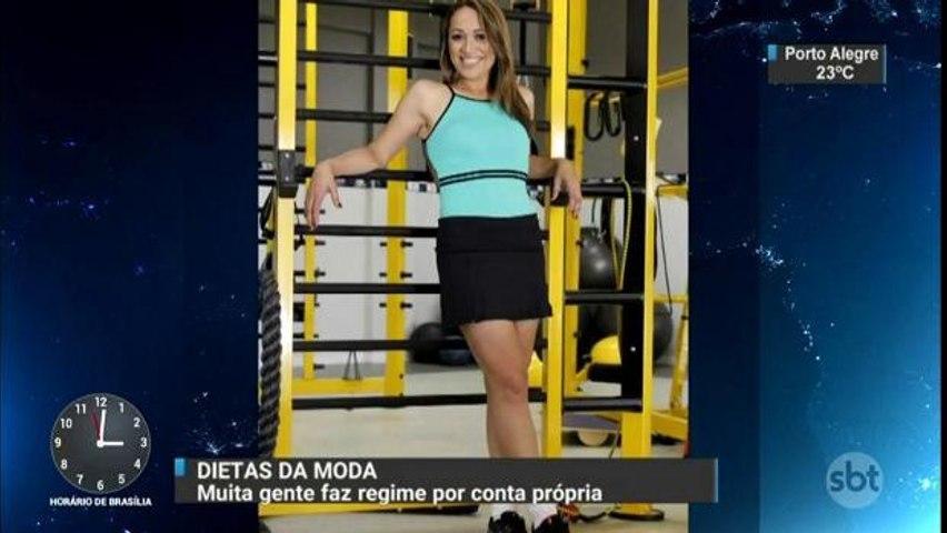 Muitos brasileiros fazem dieta sem acompanhamento médico