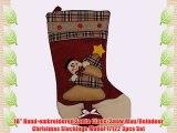 3 Pcs Christmas Santa's Stockings Holder Set Decoration Gift Bag  3D Cute Baby Christmas Stockings