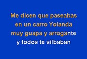 Dónde Estás Yolanda - Sonora Santanera (Karaoke)