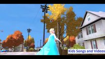 SpiderMan is Dancing Near the Railroad - Frozen Elsa rolls from the Hill - Helicopter Flight