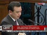 QRT: Sen. Antonio Trillanes IV, nagnegatibo sa drug test