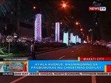 Ayala Avenue, nagningning sa pagbubukas ng Christmas display