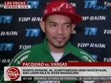 24 Oras: Jessie Vargas, tinutukan ang bilis para sa bakbakan nila ni Pacman