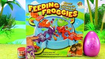 Feeding Froggies Game! Board Game Like Hungry Hippos Family Game Night Challenge