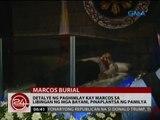 24 Oras: Detalye ng paghimlay kay Marcos sa Libingan ng mga Bayani, pinaplantsa ng pamilya