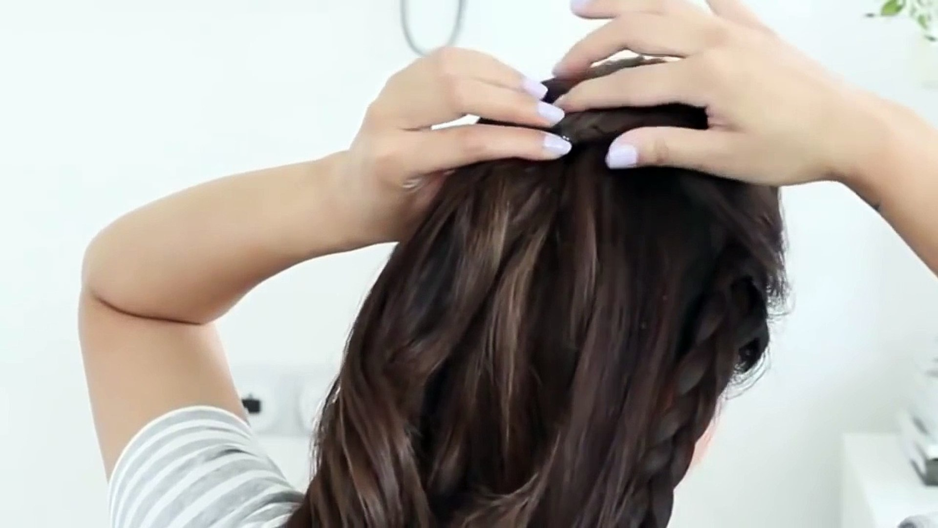 How to Make The Hair Style to a wedding to do at Home