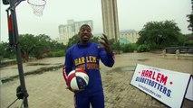 Amazing 583 - Foot Basketball Shot - Harlem Globetrotters