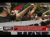 QRT: Mga tutol sa paghihimlay kay dating Pres. Marcos sa LNMB, muling nagprotesta