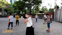 Jongles extraordinaires d'artistes au Japon !