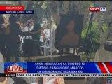 NTVL: Misa, idinaraos sa puntod ni dating Pang. Marcos sa Libingan ng mga Bayani