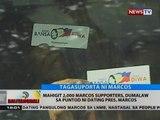 BT: Mahigit 2,000 Marcos supporters, dumalaw sa puntod ni dating Pres. Marcos