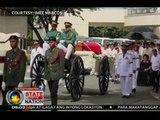 SONA: Labi ni dating Pres. Marcos, ibinyahe patungong Taguig sakay ng helicopter