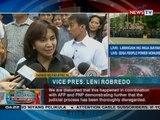 Bahagi ng pahayag ni VP Leni Robredo kaugnay ng paglibing kay ex-Pres. Marcos sa LNMB