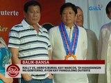 Rally vs. Hero's burial kay Marcos, 'di haharangin ng gobyerno, ayon kay Pangulong Duterte