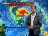 Bagyong Marce, inaasahang ngayong gabi magla-landfall sa Surigao Del Norte
