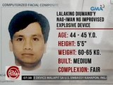 24 Oras: Computerized facial composite ng lalaking nag-iwan ng ied malapit sa U.S. Embassy, inilabas
